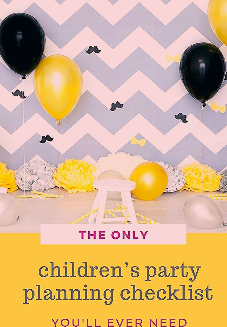 Photo of The only children's party planning checklist you'll ever need!