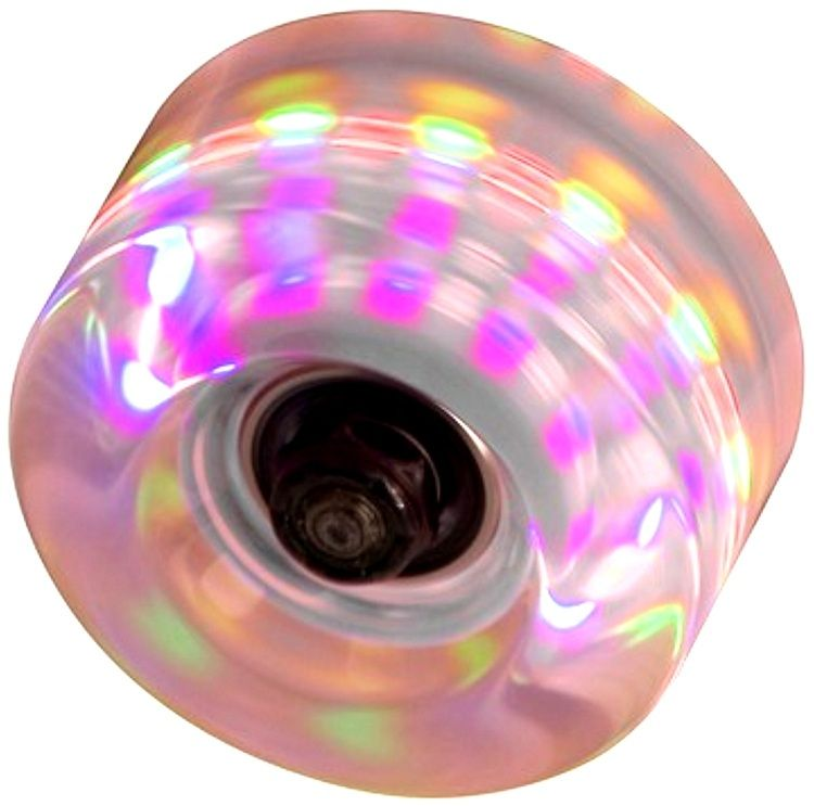 SFR LA Light Flashing 58mm Wheels Clear 4pk