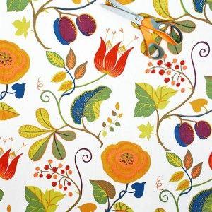 Google Image Result For Http Www Husandhem Co Uk 1112 3238 Large Capri Swedish Cotton Fabric Scandinavian Fabric Scandinavian Textiles Textile Pattern Design