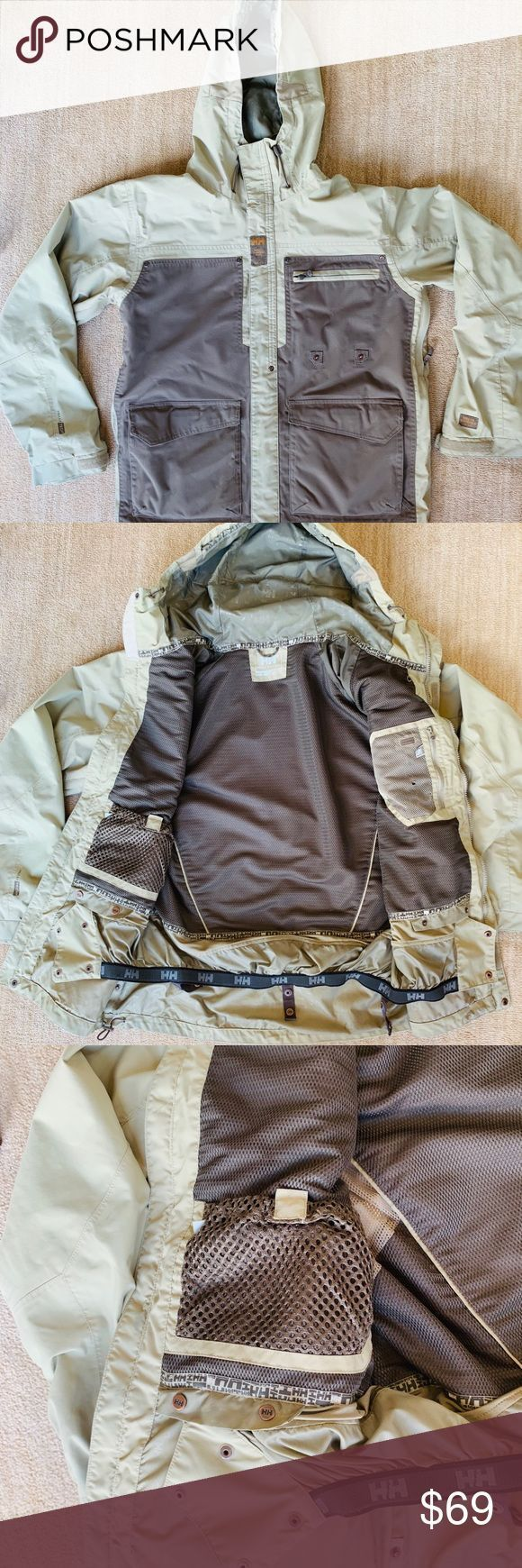 SALE Mens M Ski Snowboard Khaki Jacket Mens size medium Helly Hansen FINAL SALE Mens M Ski Snowboard Khaki Jacket Mens size medium Helly Hansen Snowboarden FINAL SALE Men...