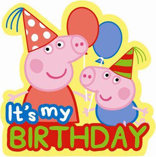 Peppa Birthday Peppa Pig Birthday La Tarta Magica La Tarta Magica Peppa Pig Birthday Party Peppa Pig Party Decorations Peppa Pig Party Supplies