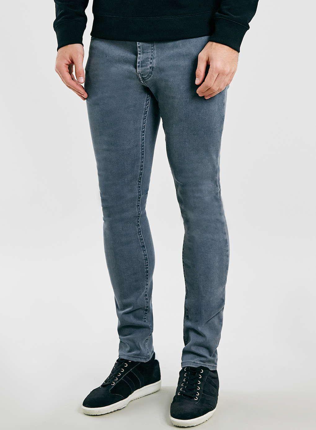 Smokey Blue Stretch Skinny Jeans | Blue, Skinny jeans and Skinny