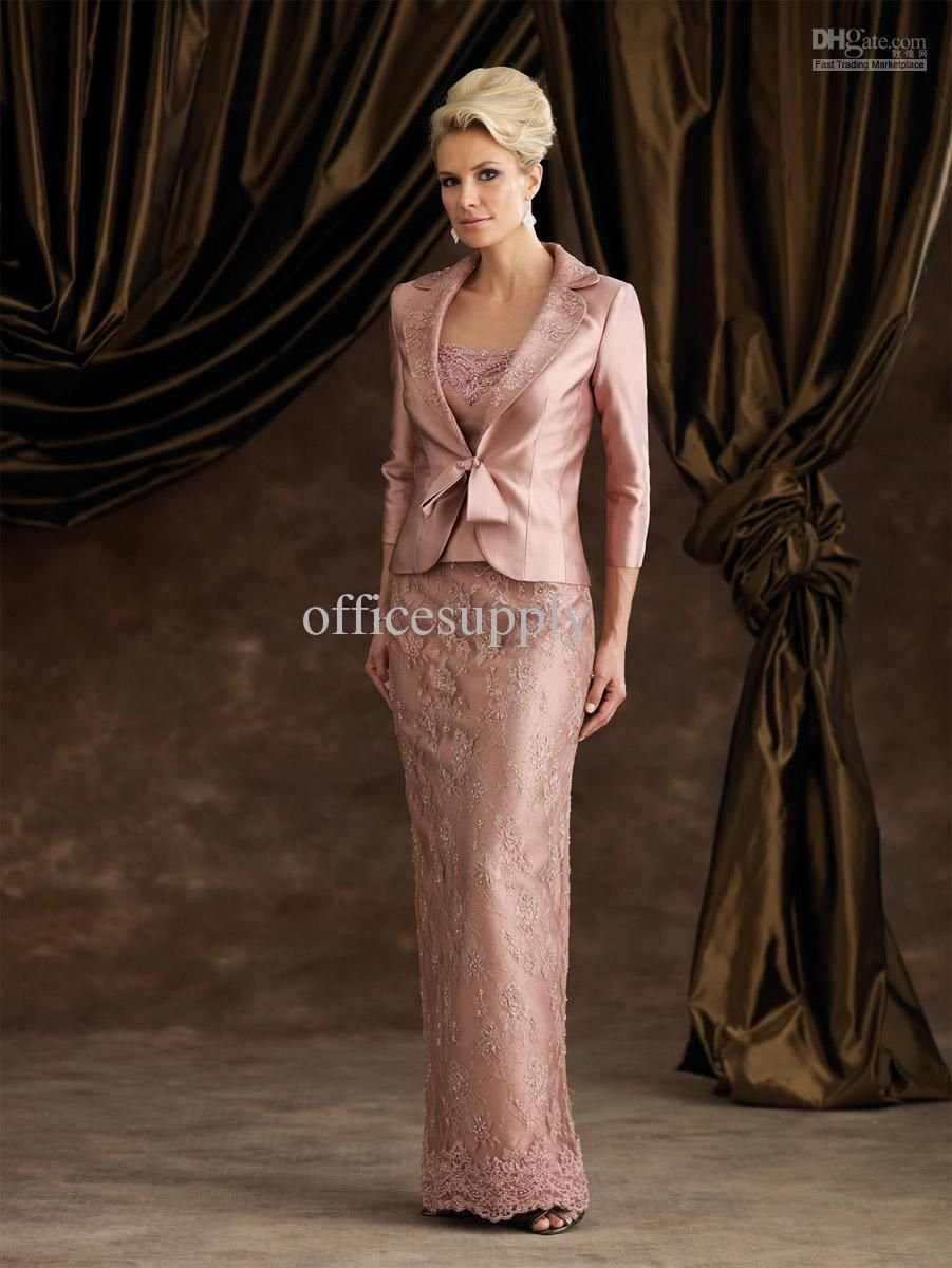 Wholesale Mother Bride - Buy Dusty Rose Outfit Mother of the Bride ...