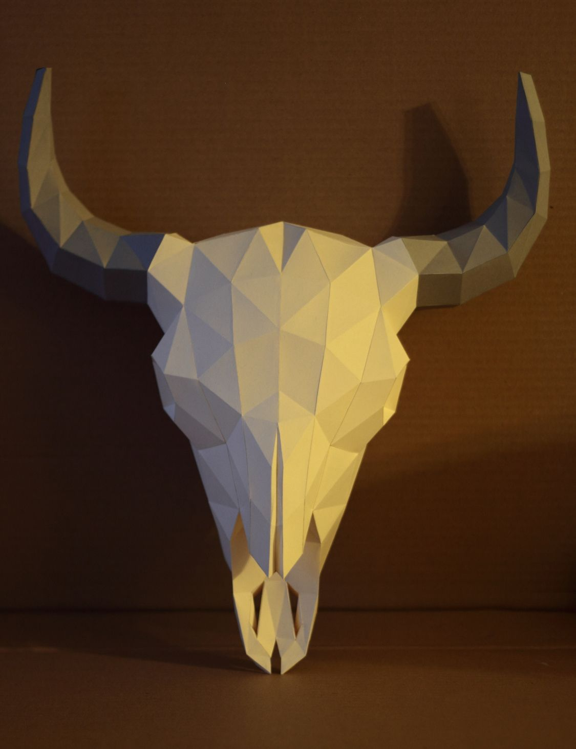 Bison Skull Papercraft V2 By Gedelgodeviantart On DeviantArt