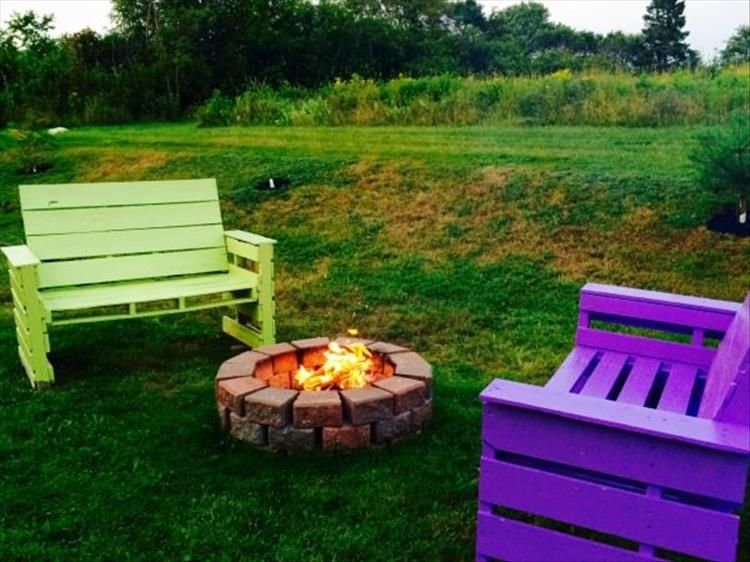 Amazing Uses For Old Pallets Pics Fire Pit Furniture Wood