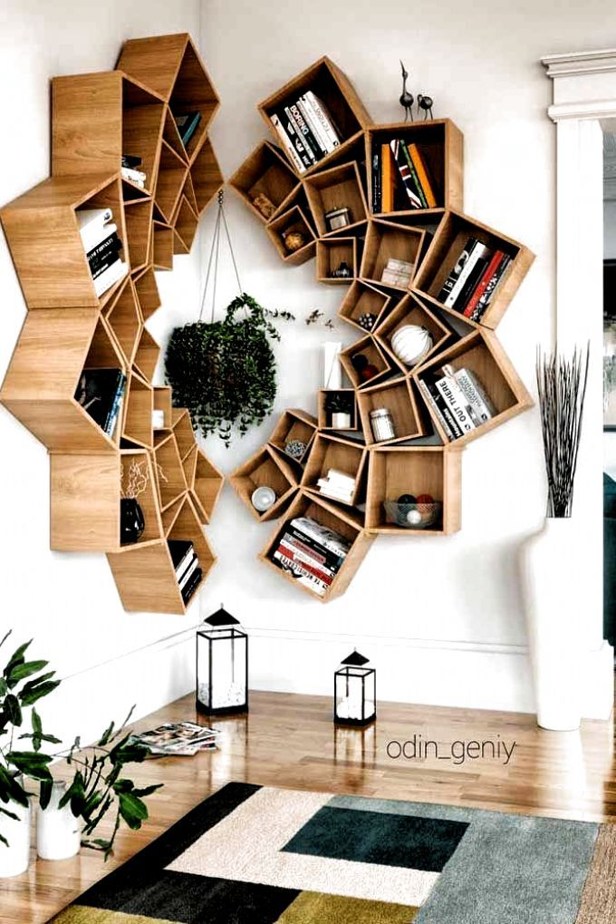 18 Amazing Bookcase Decorating Ideas To Perfect Your Interior Design – Shelf Bookcase – Ideas of Shelf Bookcase #ShelfBookcase – Wood Mandala Bookcase Design #mandalabookcase When it comes to home decor projects every single detail plays a crucial role and bookcase is no exception. Check out the compilation of the latest bookcase arrangements to make […] #home decoration diy easy