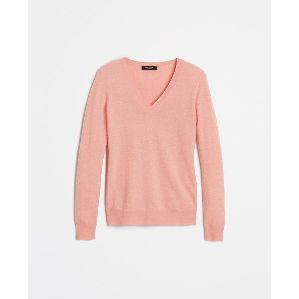 Ann Taylor Petite Cashmere V-Neck Sweater ( 169) ❤ liked on Polyvore  featuring tops 5c38f460d
