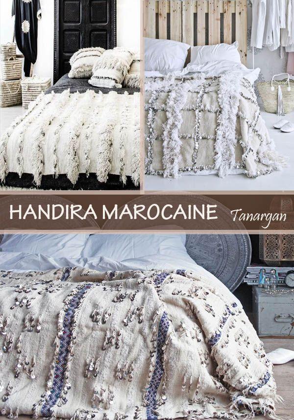 Handira couverture marocaine, reflet d\'un patrimoine berbère ...