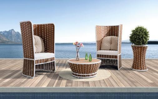 baidani rattan garten lounge set korb breda | statement-stühle und, Garten und Bauten