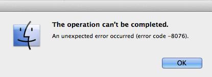 How to Troubleshoot #Mac Unexpected Error Code 8076   Apple   Error