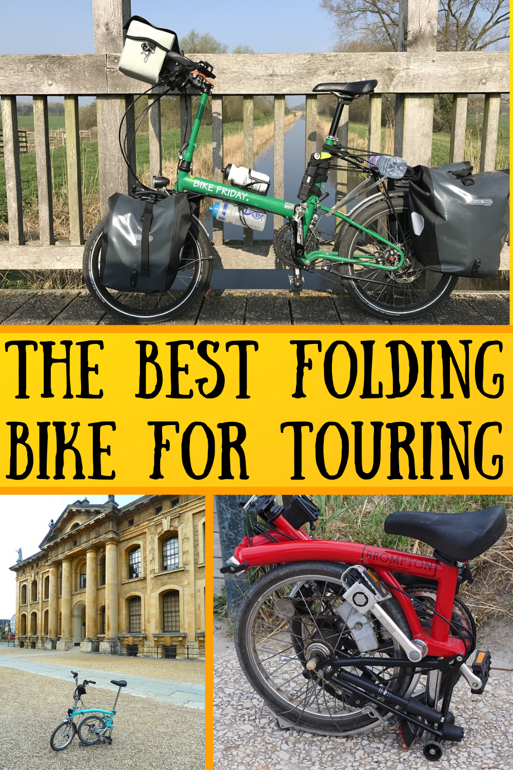 The Best Folding Bike For Touring My Pros And Cons List In 2020