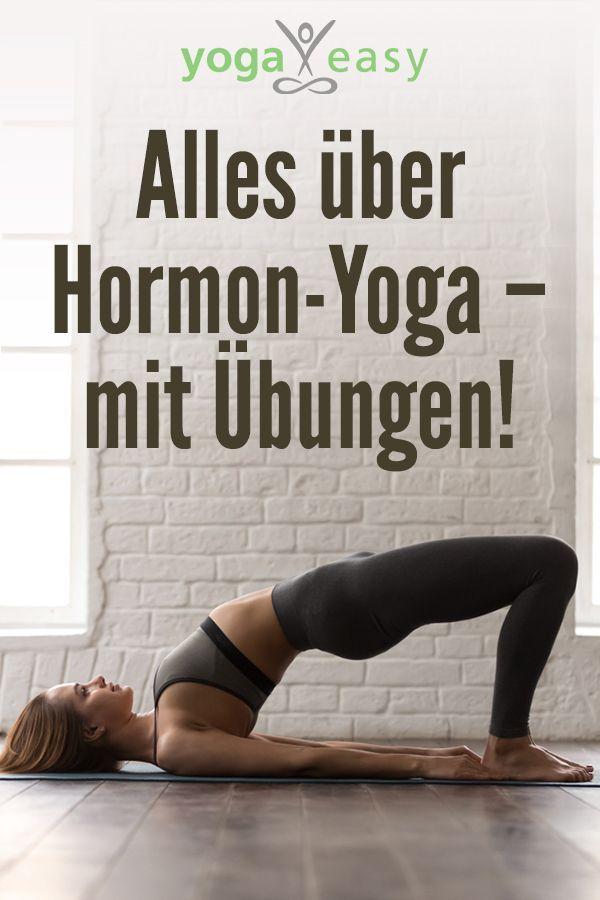 Hormon-Yoga hilft bei Kinderwunsch, bei Menstruationsproblemen und Beschwerden in den Wechseljahren....