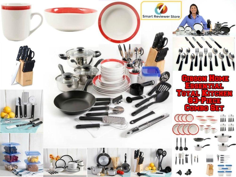 83 Piece Non Stick Cookware Set Kitchen Steel Pots And Pans