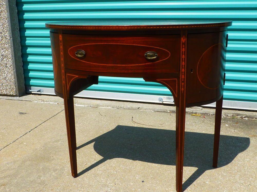 handles drawer drawers pin metal hardware pulls oval hepplewhite dresser ornate antique