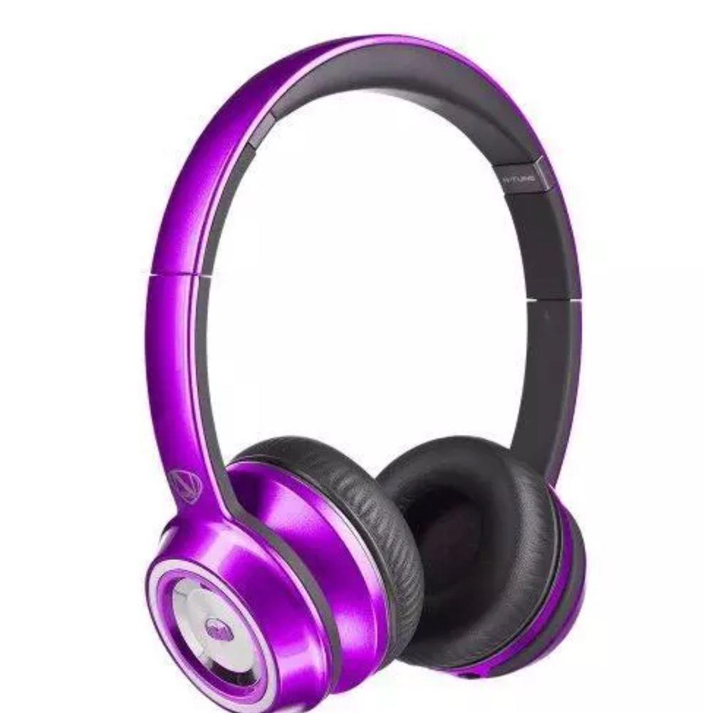 Monster Ncredible N Tune Headband Headphones Candy Purple Ebay Sennheiser Momentum 2g Ivory Link