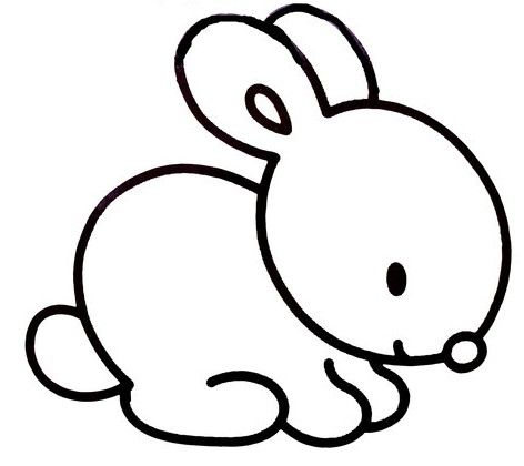 Patronpattern Projects To Try Coloriage Lapin Dessin