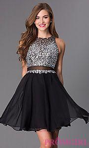 Buy Short Sleeveless JVN by Jovani Dress JVN27600 at PromGirl