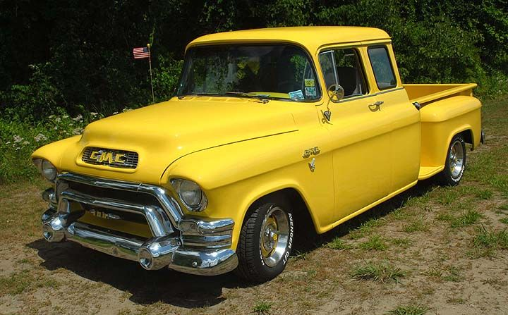 1955 gmc pickup 1955 gmc 100 extended cab pick up gm gmc trucks trucks cars. Black Bedroom Furniture Sets. Home Design Ideas