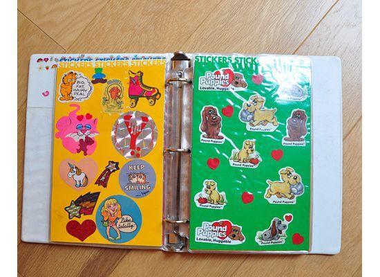 Stickers! Sticker book, Scrapbook journal, Stickers