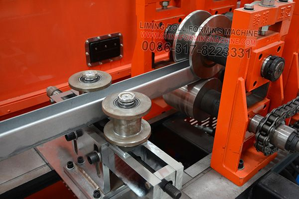 Stud #and #track #roll #forming #machine is made of manual decoiler