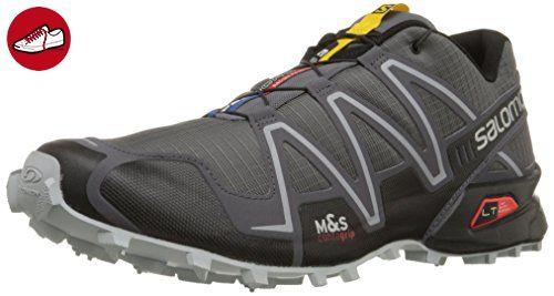 Herren Speedcross 4 Traillaufschuhe, Grau (Dark Cloud/Black Pearl/Grey), 40 EU Salomon
