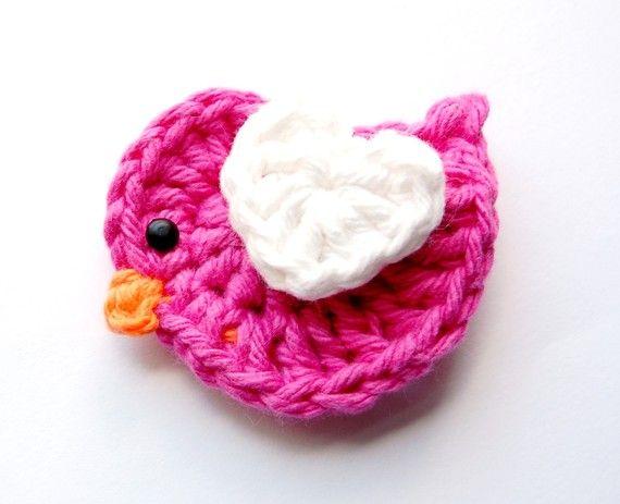 Crochet Baby Hair Clip