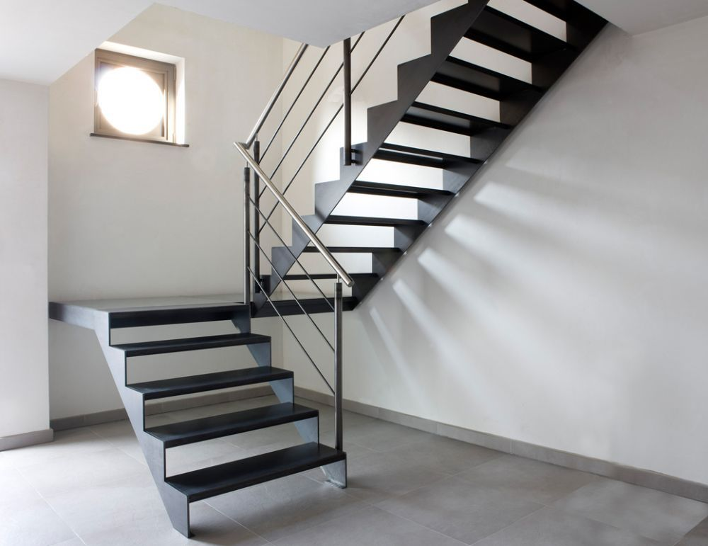 Stalen trap constructie google zoeken garden outdoor pinterest staircases loft stairs - Mezzanine trap ...