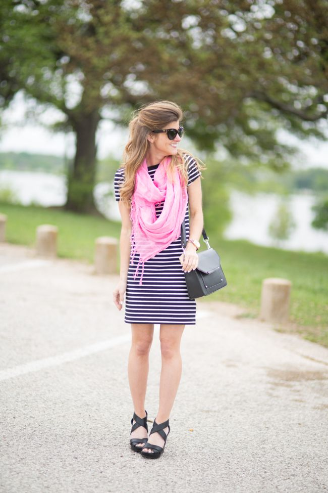 Striped Dress Outfit Ideas 3 Ways To Style A Striped Dress