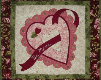 valentine quilts free patterns - Google Search Valentine Quilt Block Pinterest More Free ...