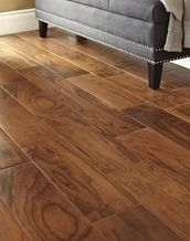 7 x 20 brown wood look ceramic tile