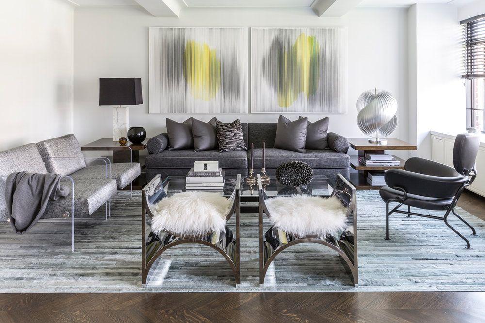 Sophisticated New York Apartment Contemporary Home Decor