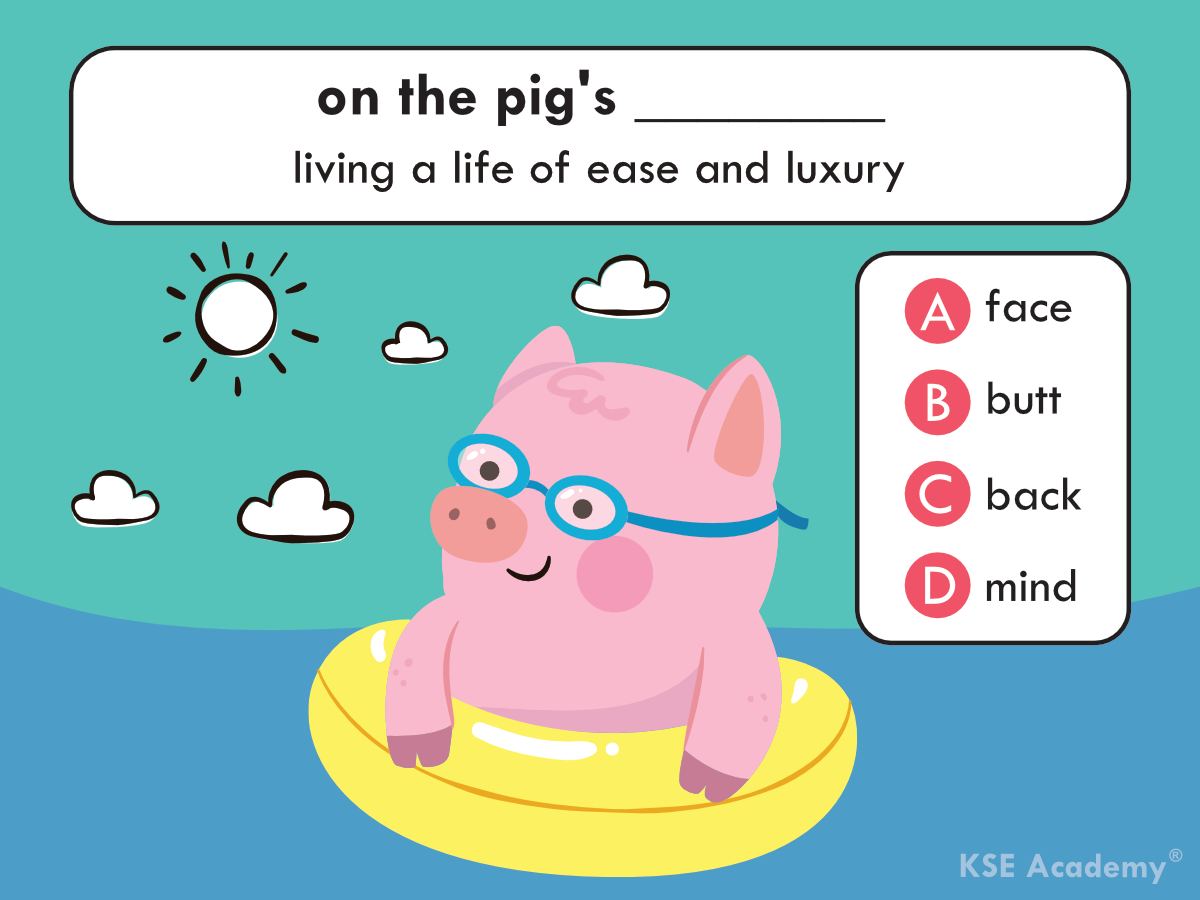 New Quiz Can You Guess The Right Answer Idiom English