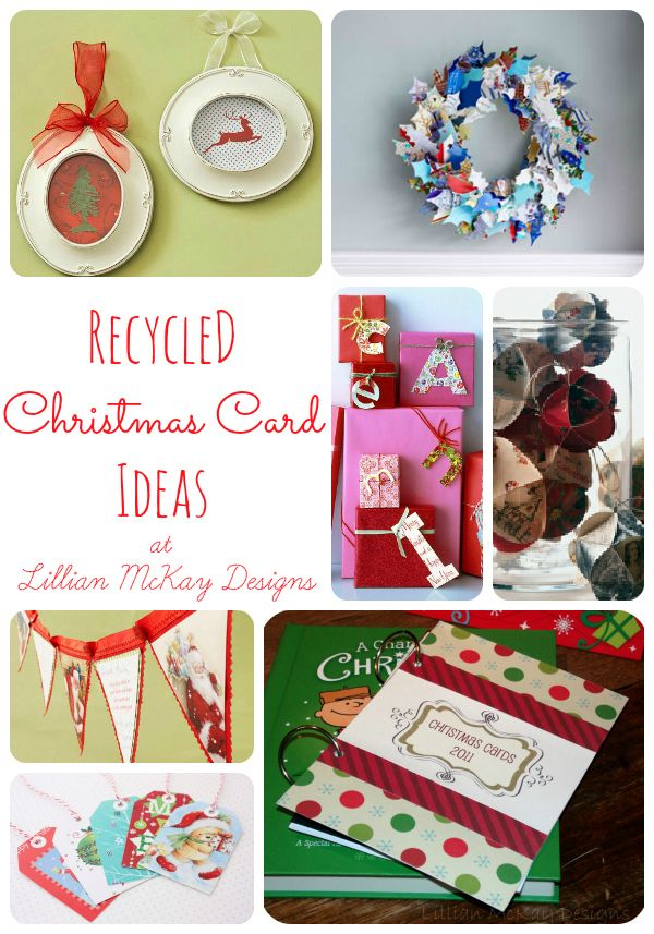 Recycled Christmas Card Ideas | Christmas | Pinterest | Card ideas ...