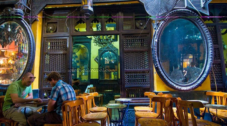 El Fishawy Cafe Is Indeed The Most Renowned Cafe In The Arab World It Is A Monument To The Traditional Egyptian Social Style Cairo Egypt Cairo Nightlife Cairo