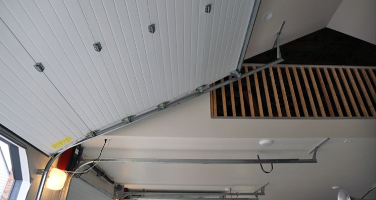 High Lift Garage Door Garage Door Track Garage Doors Log Homes
