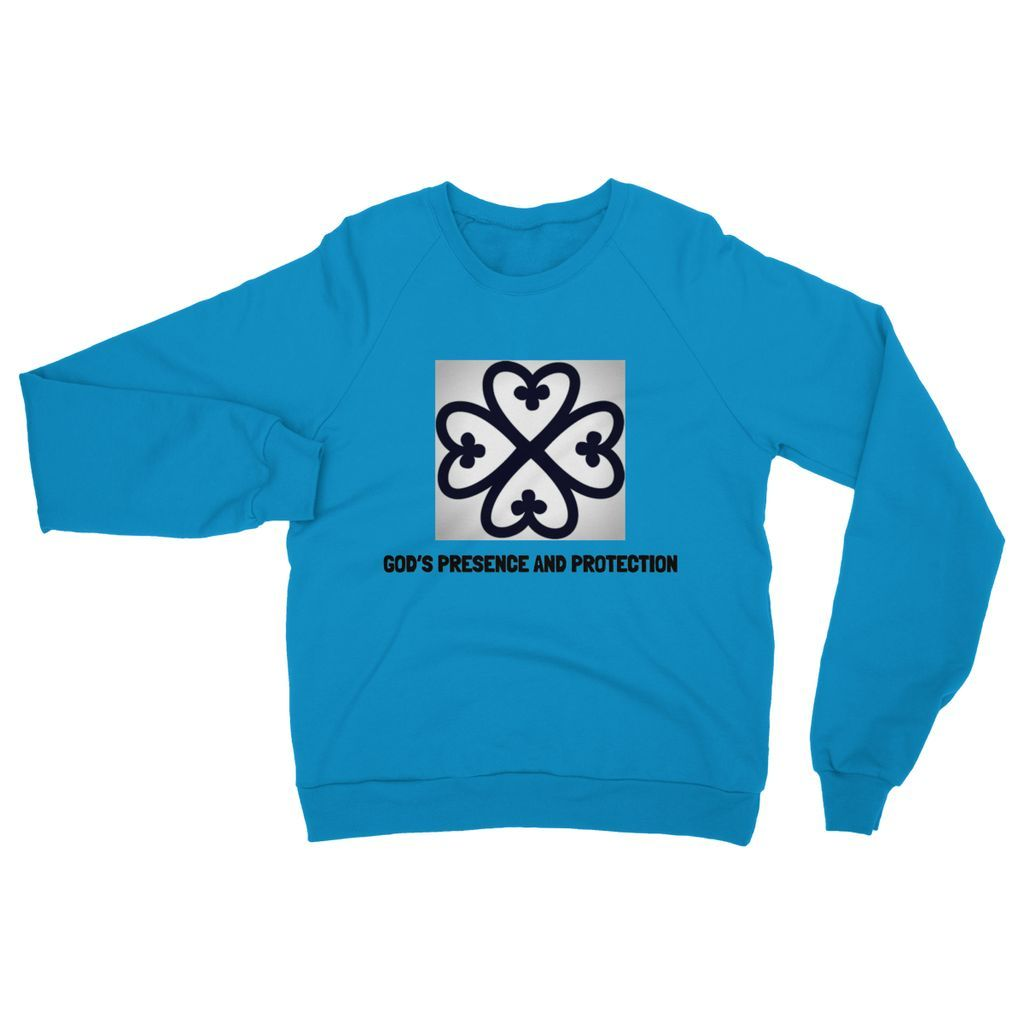 God's presence and protection Crew Neck Sweatshirt