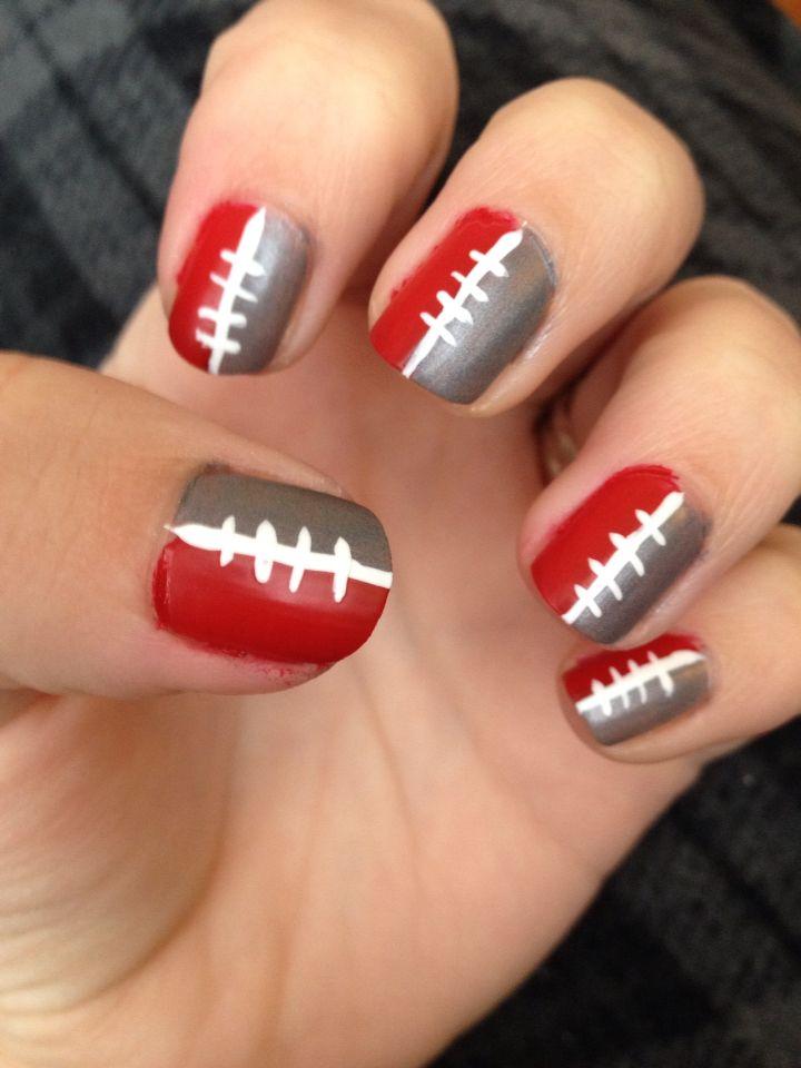 Ohio State Nails My Nails Pinterest Ohio State Nails Ohio And