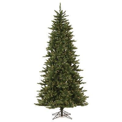 Artificial Christmas Trees 117414 75 X 45 Camdon Slim Holiday