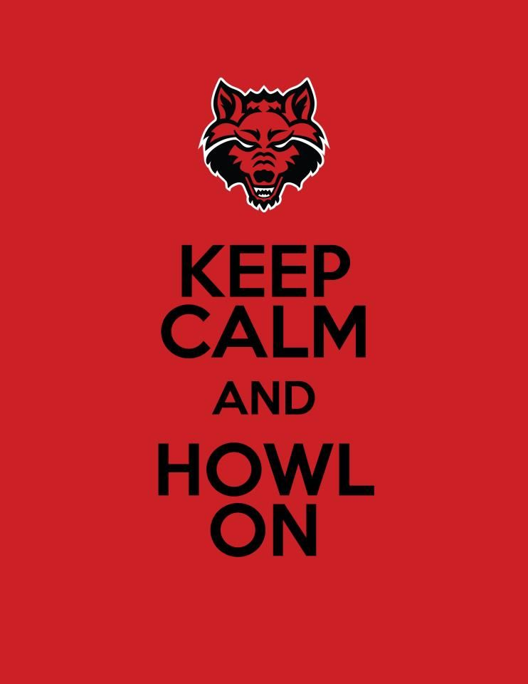 Keep Calm And Howl On Personally I Liked Being The Asu Indians