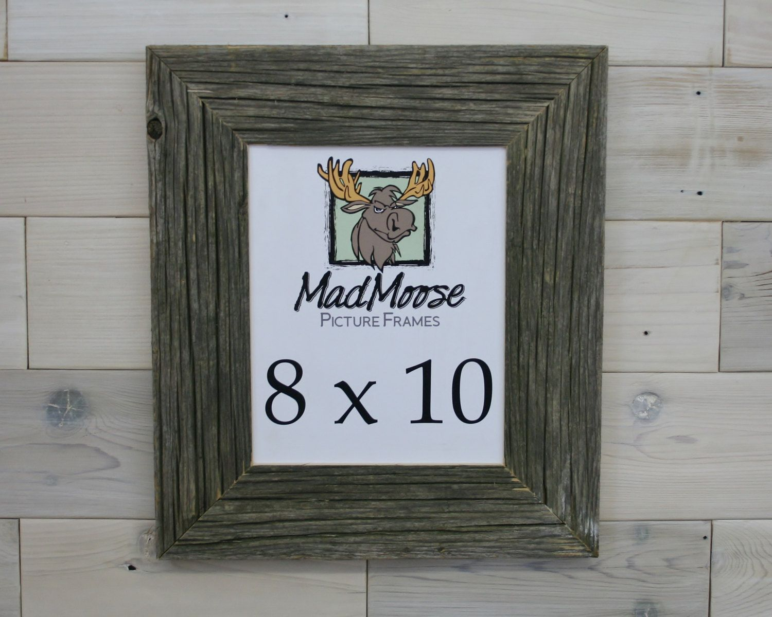 Barn Wood 8x10 Picture Frame [style: Chunky x 3\