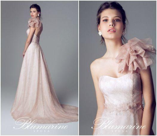 big sale a0e5c df070 Abiti da sposa color rosa cipria | Платья | Abiti da sposa ...