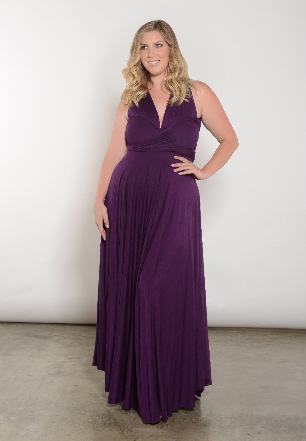Eternity Maxi Convertible Dress | New Plus Size Clothing at SWAK ...