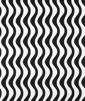 Premier Prints Waves Black/White Fabric