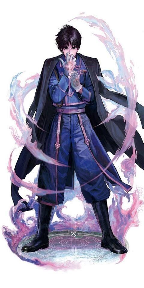Roy Mustag | Fullmetal Alchemist Brotherhood