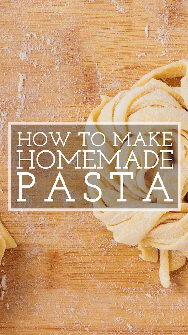 Easy homemade pasta