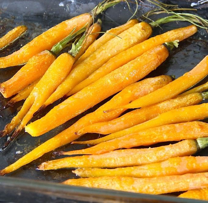 http://www.fullfatdiet.com/recipe/oven-roasted-carrots/ These Oven Roasted Carrots are so scrumptious I seriously imagine them served in a movie theater of the future and eaten like french fries!