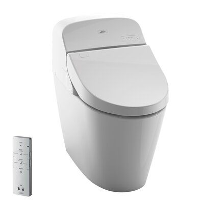 Toto Toto Washlet G400 Bidet Seat With Integrated Dual Flush 1 28 Or 0 9 Gpf Toilet With Premist Wax Ring And Toilet Mounting Bolts In 2020 Washlet Bidet Toilet Seat Toto Toilet