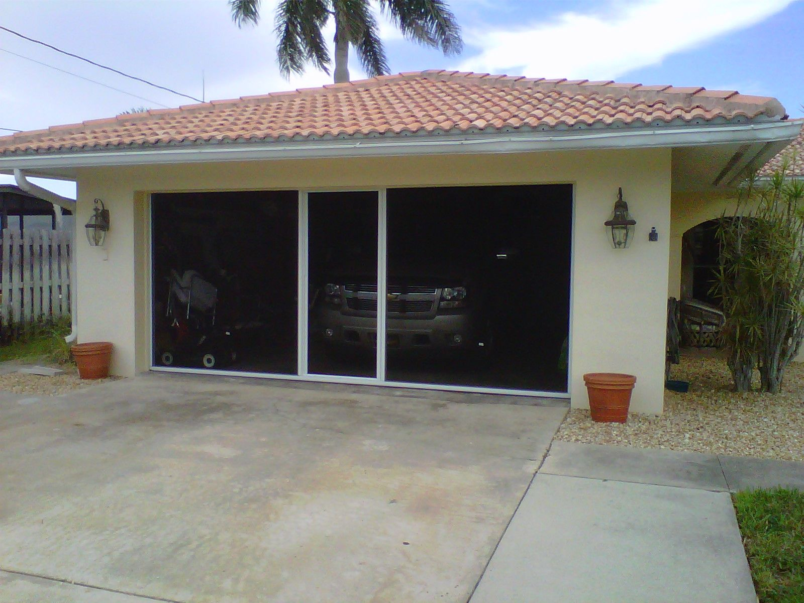 garage of full door doors by home cool screen alluring roll size outstanding idea depot up kits com stirring design image images