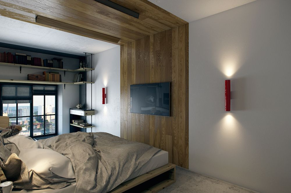 This teeny tiny apartment was visualized by one studio covering just under 390 square feet it is intended to be located in kharkov ukraine