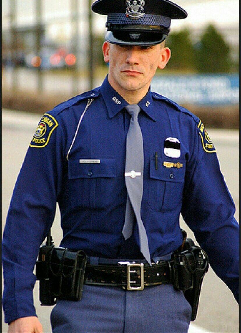 Gay cops in uniform
